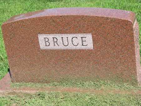BRUCE, (FAMILY MONUMENT) - Burt County, Nebraska | (FAMILY MONUMENT) BRUCE - Nebraska Gravestone Photos