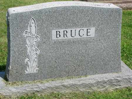 BRUCE, (FAMILY MONUMENT) - Burt County, Nebraska | (FAMILY MONUMENT) BRUCE - Nebraska Gravestone Photos