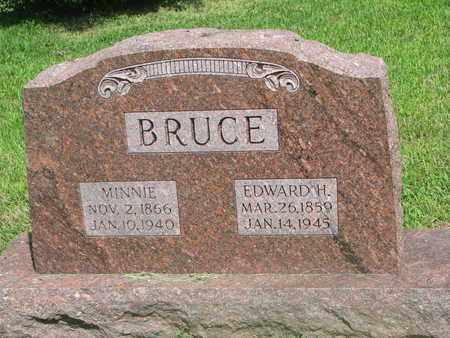BRUCE, EDWARD H. - Burt County, Nebraska | EDWARD H. BRUCE - Nebraska Gravestone Photos