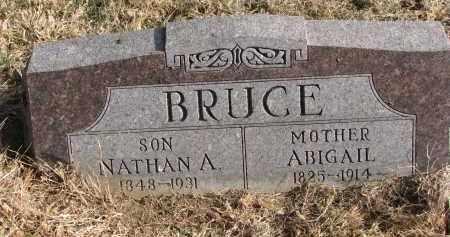 BRUCE, NATHAN A. - Burt County, Nebraska   NATHAN A. BRUCE - Nebraska Gravestone Photos