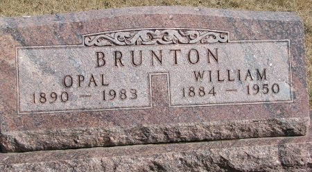 BRUNTON, OPAL MAUDE - Burt County, Nebraska | OPAL MAUDE BRUNTON - Nebraska Gravestone Photos