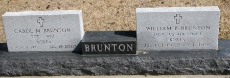 BRUNTON, WILLIAM B. - Burt County, Nebraska | WILLIAM B. BRUNTON - Nebraska Gravestone Photos
