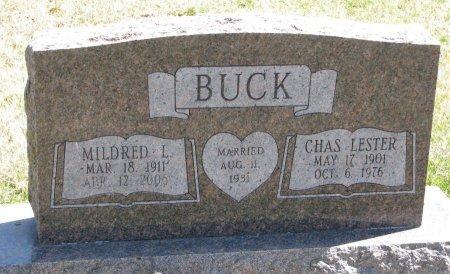 BUCK, CHARLES LESTER - Burt County, Nebraska | CHARLES LESTER BUCK - Nebraska Gravestone Photos