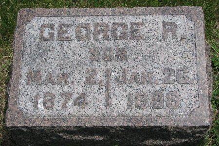 BUCK, GEORGE R. - Burt County, Nebraska   GEORGE R. BUCK - Nebraska Gravestone Photos
