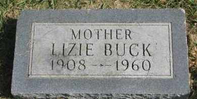 BUCK, LIZIE - Burt County, Nebraska | LIZIE BUCK - Nebraska Gravestone Photos