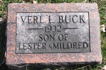 BUCK, VERL L. - Burt County, Nebraska | VERL L. BUCK - Nebraska Gravestone Photos