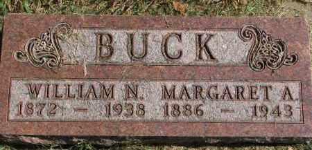 BUCK, MARGARET A. - Burt County, Nebraska | MARGARET A. BUCK - Nebraska Gravestone Photos