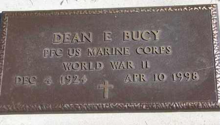 BUCY, DEAN E. (WW II) - Burt County, Nebraska   DEAN E. (WW II) BUCY - Nebraska Gravestone Photos