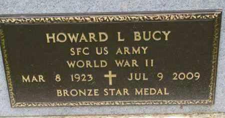 BUCY, HOWARD L. (WW II) - Burt County, Nebraska | HOWARD L. (WW II) BUCY - Nebraska Gravestone Photos