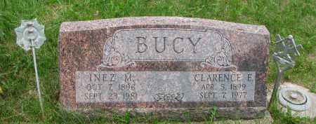 BUCY, INEZ M. - Burt County, Nebraska   INEZ M. BUCY - Nebraska Gravestone Photos