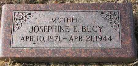 BUCY, JOSEPHINE E. - Burt County, Nebraska | JOSEPHINE E. BUCY - Nebraska Gravestone Photos