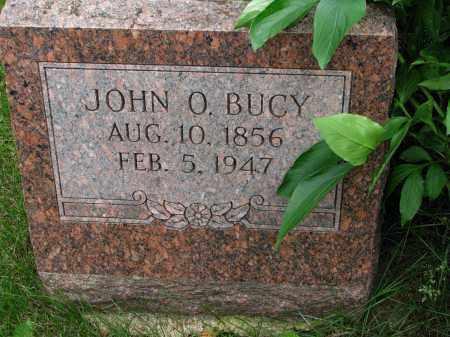 BUCY, JOHN O. - Burt County, Nebraska | JOHN O. BUCY - Nebraska Gravestone Photos