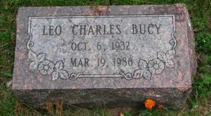 BUCY, LEO CHARLES - Burt County, Nebraska   LEO CHARLES BUCY - Nebraska Gravestone Photos