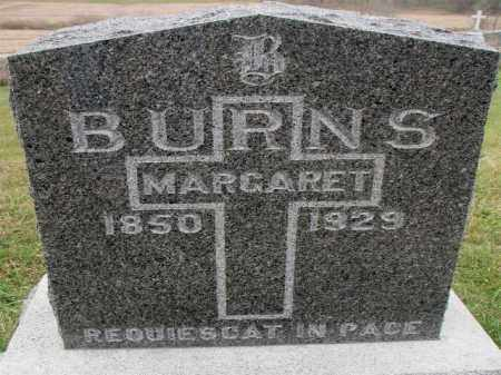BURNS, MAGARET - Burt County, Nebraska | MAGARET BURNS - Nebraska Gravestone Photos