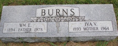 BURNS, IVA V. - Burt County, Nebraska | IVA V. BURNS - Nebraska Gravestone Photos