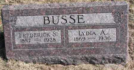 BUSSE, LYDIA A. - Burt County, Nebraska | LYDIA A. BUSSE - Nebraska Gravestone Photos