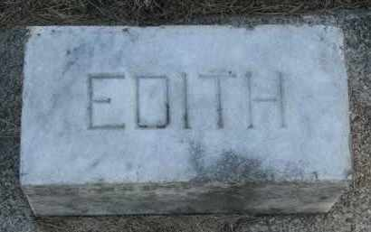 BUTTS, EDITH - Burt County, Nebraska | EDITH BUTTS - Nebraska Gravestone Photos