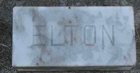 BUTTS, ELTON - Burt County, Nebraska | ELTON BUTTS - Nebraska Gravestone Photos