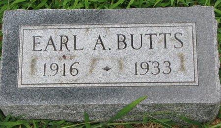 BUTTS, EARL A. - Burt County, Nebraska   EARL A. BUTTS - Nebraska Gravestone Photos