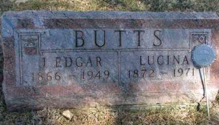 BUTTS, LUCINA - Burt County, Nebraska | LUCINA BUTTS - Nebraska Gravestone Photos