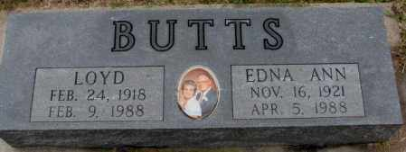 BUTTS, LOYD - Burt County, Nebraska | LOYD BUTTS - Nebraska Gravestone Photos