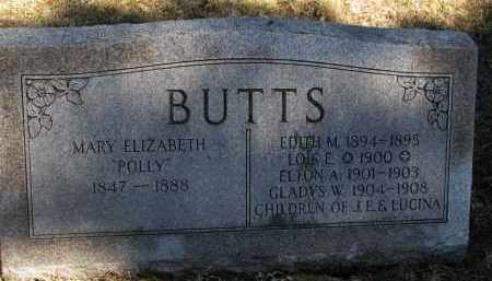BUTTS, EDITH M. - Burt County, Nebraska | EDITH M. BUTTS - Nebraska Gravestone Photos