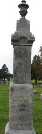 BUVYER, GEORGE - Burt County, Nebraska   GEORGE BUVYER - Nebraska Gravestone Photos