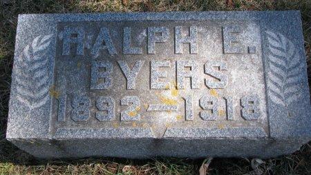 BYERS, RALPH E. - Burt County, Nebraska | RALPH E. BYERS - Nebraska Gravestone Photos