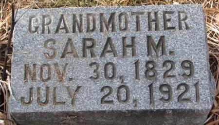 BYRAM, SARAH M. - Burt County, Nebraska | SARAH M. BYRAM - Nebraska Gravestone Photos