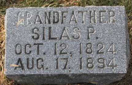 BYRAM, SILAS P. - Burt County, Nebraska | SILAS P. BYRAM - Nebraska Gravestone Photos