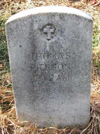 BYRAM, THOMAS PIERSON - Burt County, Nebraska   THOMAS PIERSON BYRAM - Nebraska Gravestone Photos