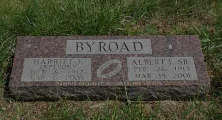 BYROAD, HARRIET J. - Burt County, Nebraska   HARRIET J. BYROAD - Nebraska Gravestone Photos