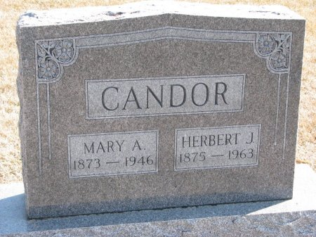 CANDOR, MARY A. - Burt County, Nebraska | MARY A. CANDOR - Nebraska Gravestone Photos