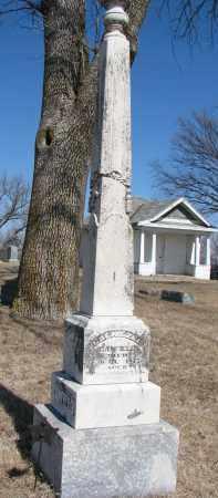 CANFIELD, EBENEZER - Burt County, Nebraska | EBENEZER CANFIELD - Nebraska Gravestone Photos