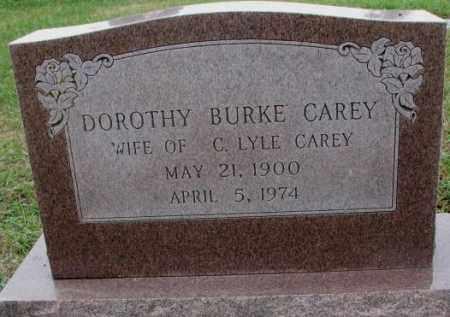 BURKE CAREY, DOROTHY - Burt County, Nebraska   DOROTHY BURKE CAREY - Nebraska Gravestone Photos