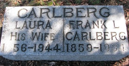 CARLBERG, FRANK L. - Burt County, Nebraska | FRANK L. CARLBERG - Nebraska Gravestone Photos