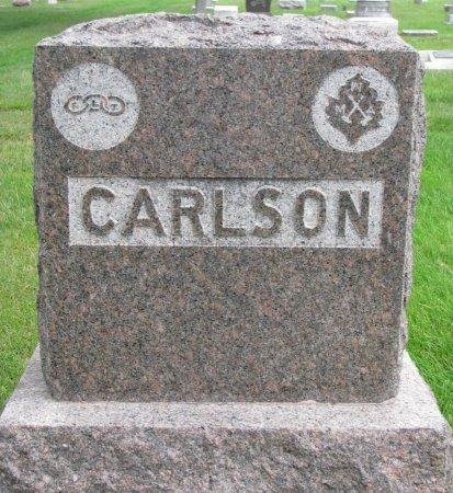 CARLSON, *FAMILY MONUMENT - Burt County, Nebraska | *FAMILY MONUMENT CARLSON - Nebraska Gravestone Photos