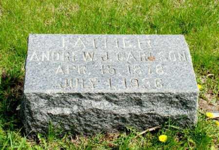 CARLSON, ANDREW J. - Burt County, Nebraska   ANDREW J. CARLSON - Nebraska Gravestone Photos