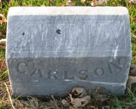 CARLSON, ANNA - Burt County, Nebraska | ANNA CARLSON - Nebraska Gravestone Photos