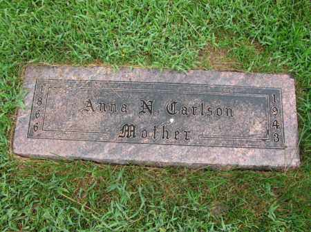 CARLSON, ANNA N. - Burt County, Nebraska   ANNA N. CARLSON - Nebraska Gravestone Photos
