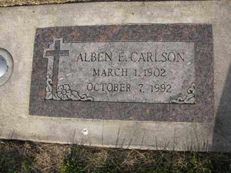 CARLSON, ALBEN E. - Burt County, Nebraska   ALBEN E. CARLSON - Nebraska Gravestone Photos