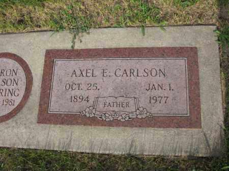 CARLSON, AXEL E. - Burt County, Nebraska   AXEL E. CARLSON - Nebraska Gravestone Photos