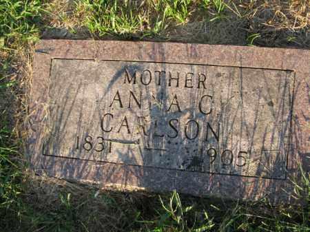 CARLSON, ANNA C. - Burt County, Nebraska | ANNA C. CARLSON - Nebraska Gravestone Photos