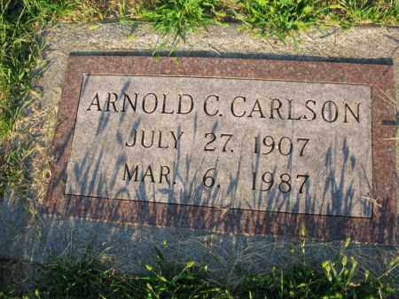 CARLSON, ARNOLD C. - Burt County, Nebraska | ARNOLD C. CARLSON - Nebraska Gravestone Photos