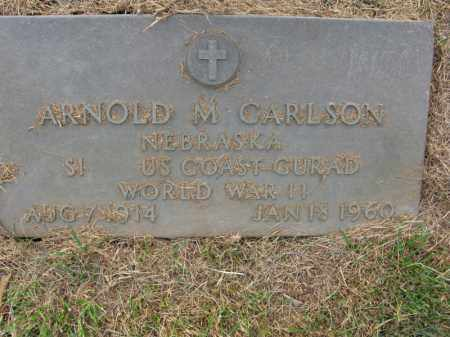 CARLSON, ARNOLD M. - Burt County, Nebraska | ARNOLD M. CARLSON - Nebraska Gravestone Photos