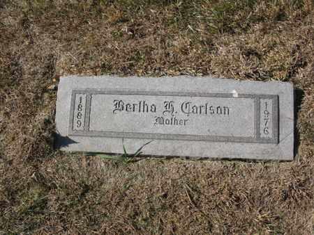 CARLSON, BERTHA HATILA - Burt County, Nebraska | BERTHA HATILA CARLSON - Nebraska Gravestone Photos