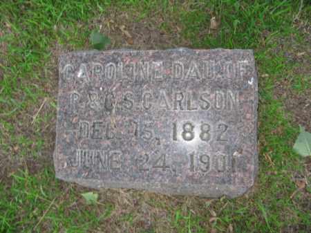 CARLSON, CAROLINE - Burt County, Nebraska   CAROLINE CARLSON - Nebraska Gravestone Photos