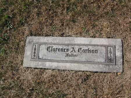 CARLSON, CLARENCE AUGUST - Burt County, Nebraska | CLARENCE AUGUST CARLSON - Nebraska Gravestone Photos