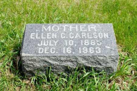 CARLSON, ELLEN C. - Burt County, Nebraska | ELLEN C. CARLSON - Nebraska Gravestone Photos