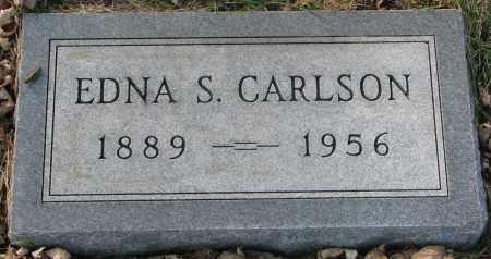 CARLSON, EDNA S. - Burt County, Nebraska   EDNA S. CARLSON - Nebraska Gravestone Photos